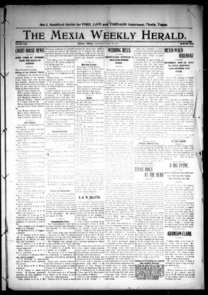 Primary view of object titled 'The Mexia Weekly Herald (Mexia, Tex.), Vol. 12, Ed. 1 Thursday, January 19, 1911'.