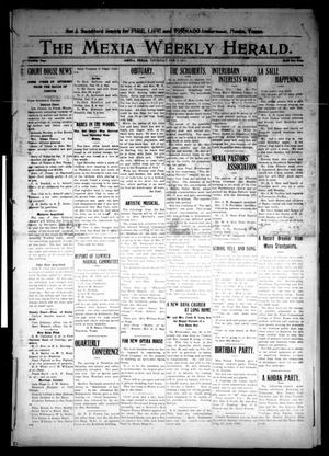 Primary view of object titled 'The Mexia Weekly Herald (Mexia, Tex.), Vol. 12, Ed. 1 Thursday, February 2, 1911'.