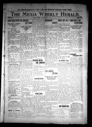 Primary view of object titled 'The Mexia Weekly Herald (Mexia, Tex.), Vol. 12, Ed. 1 Thursday, February 9, 1911'.