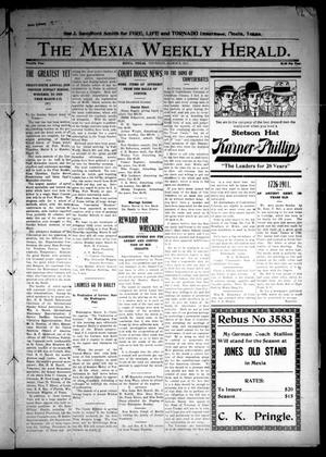 Primary view of object titled 'The Mexia Weekly Herald (Mexia, Tex.), Vol. 12, Ed. 1 Thursday, March 9, 1911'.