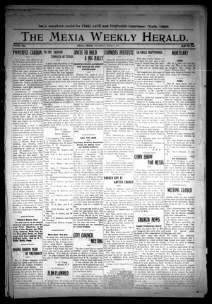 Primary view of object titled 'The Mexia Weekly Herald (Mexia, Tex.), Vol. 12, Ed. 1 Thursday, April 6, 1911'.