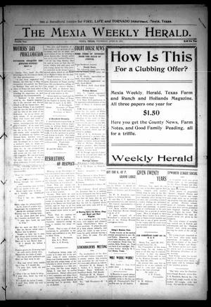 Primary view of object titled 'The Mexia Weekly Herald (Mexia, Tex.), Vol. 12, Ed. 1 Thursday, April 27, 1911'.