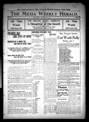 Primary view of object titled 'The Mexia Weekly Herald (Mexia, Tex.), Vol. 12, Ed. 1 Thursday, June 1, 1911'.