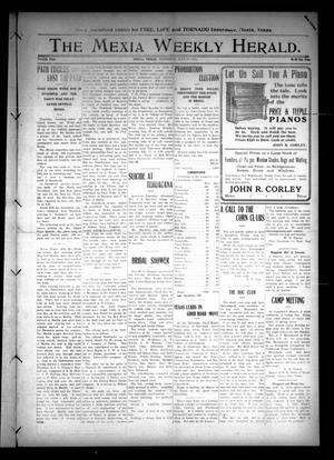 Primary view of object titled 'The Mexia Weekly Herald (Mexia, Tex.), Vol. 12, Ed. 1 Thursday, July 27, 1911'.