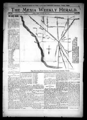Primary view of object titled 'The Mexia Weekly Herald (Mexia, Tex.), Vol. 12, Ed. 1 Thursday, December 7, 1911'.