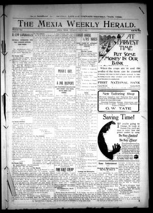 Primary view of object titled 'The Mexia Weekly Herald (Mexia, Tex.), Vol. 13, Ed. 1 Thursday, January 11, 1912'.