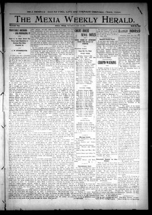 Primary view of object titled 'The Mexia Weekly Herald (Mexia, Tex.), Vol. 13, Ed. 1 Thursday, January 18, 1912'.