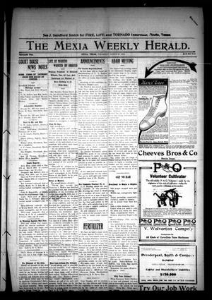 Primary view of object titled 'The Mexia Weekly Herald (Mexia, Tex.), Vol. 13, Ed. 1 Thursday, March 28, 1912'.