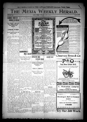Primary view of object titled 'The Mexia Weekly Herald (Mexia, Tex.), Vol. 13, Ed. 1 Thursday, April 4, 1912'.