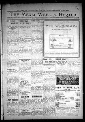 Primary view of object titled 'The Mexia Weekly Herald (Mexia, Tex.), Vol. 13, Ed. 1 Thursday, April 25, 1912'.
