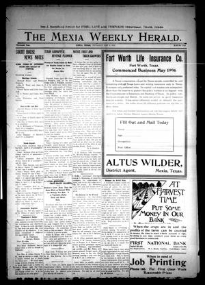Primary view of object titled 'The Mexia Weekly Herald (Mexia, Tex.), Vol. 13, Ed. 1 Thursday, May 2, 1912'.