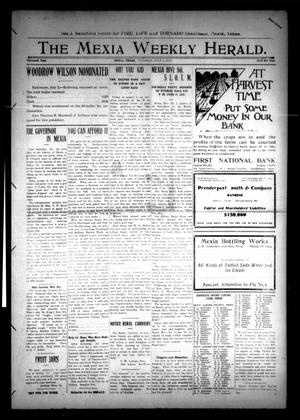 Primary view of object titled 'The Mexia Weekly Herald (Mexia, Tex.), Vol. 13, Ed. 1 Thursday, July 4, 1912'.