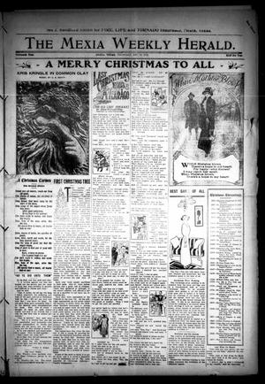 Primary view of object titled 'The Mexia Weekly Herald (Mexia, Tex.), Vol. 13, Ed. 1 Thursday, December 19, 1912'.