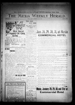 Primary view of object titled 'The Mexia Weekly Herald (Mexia, Tex.), Vol. 14, Ed. 1 Thursday, January 23, 1913'.