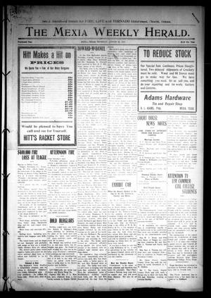 Primary view of object titled 'The Mexia Weekly Herald (Mexia, Tex.), Vol. 14, Ed. 1 Thursday, August 28, 1913'.