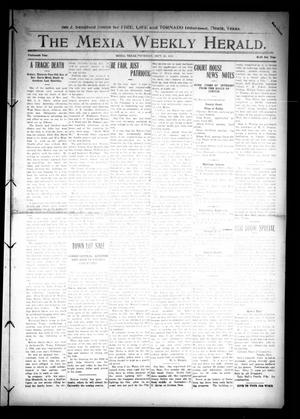 Primary view of object titled 'The Mexia Weekly Herald (Mexia, Tex.), Vol. 14, Ed. 1 Thursday, September 25, 1913'.