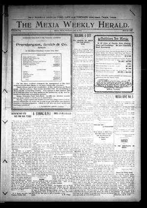 Primary view of object titled 'The Mexia Weekly Herald (Mexia, Tex.), Vol. 14, Ed. 1 Thursday, October 30, 1913'.
