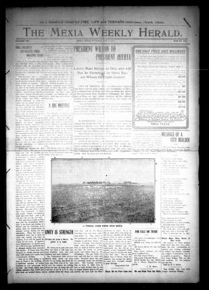 Primary view of object titled 'The Mexia Weekly Herald (Mexia, Tex.), Vol. 14, Ed. 1 Thursday, November 6, 1913'.