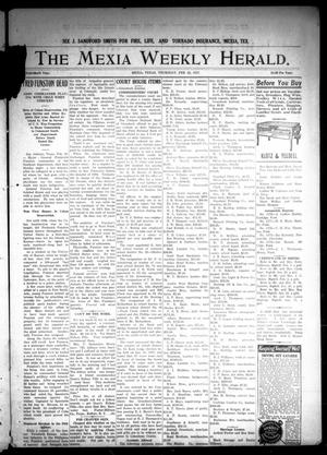 Primary view of object titled 'The Mexia Weekly Herald (Mexia, Tex.), Vol. 18, Ed. 1 Thursday, February 22, 1917'.