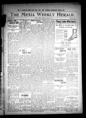 Primary view of object titled 'The Mexia Weekly Herald (Mexia, Tex.), Vol. 18, Ed. 1 Thursday, March 22, 1917'.