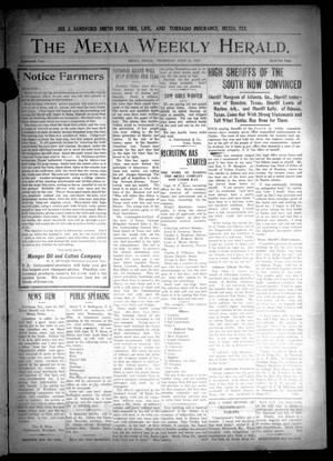 Primary view of object titled 'The Mexia Weekly Herald (Mexia, Tex.), Vol. 18, Ed. 1 Thursday, June 21, 1917'.