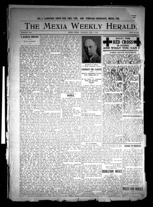 Primary view of object titled 'The Mexia Weekly Herald (Mexia, Tex.), Vol. 19, Ed. 1 Thursday, February 7, 1918'.