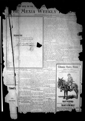 Primary view of object titled 'The Mexia Weekly Herald (Mexia, Tex.), Vol. [21], No. 1, Ed. 1 Thursday, January 1, 1920'.