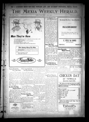 Primary view of object titled 'The Mexia Weekly Herald (Mexia, Tex.), Vol. 22, No. 15, Ed. 1 Friday, April 9, 1920'.