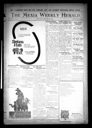 Primary view of object titled 'The Mexia Weekly Herald (Mexia, Tex.), Vol. 22, No. 23, Ed. 1 Friday, June 4, 1920'.