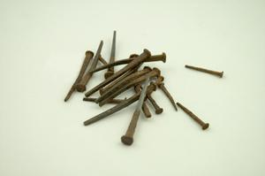 Primary view of object titled '18 cut nails'.