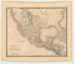 "Primary view of object titled '""Mexico. and Guatimala. Corrected from original information communicated by Simon A.G. Bourne Esq.""'."