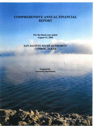 Primary view of object titled 'San Jacinto River Authority Annual Financial Report: 2009'.