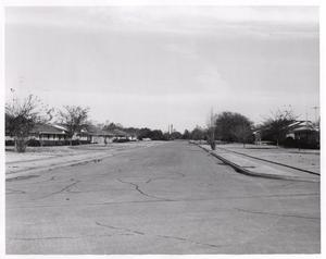 Primary view of object titled 'Lois Lane, north from Spring Valley, 1968, Richardson, Texas'.