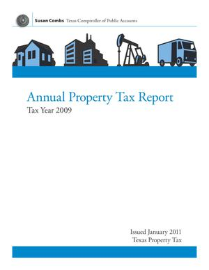 Primary view of object titled 'Annual Property Tax Report: Tax Year 2009'.