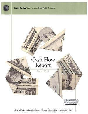 Primary view of object titled 'Cash Flow Report: Fiscal Year 2011, September 2011'.