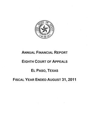 Eighth Court of Appeals of Texas Annual Financial Report, 2011.