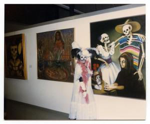 [People Celebrating Day of the Dead]