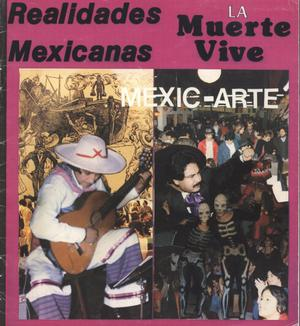 Primary view of object titled '[Booklet: Realidades Mexicanas and La Muerte Vive]'.
