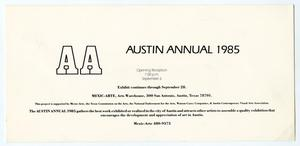 [Postcard: Mexic-Arte Museum Invites Betty Horton to the Austin Annual]