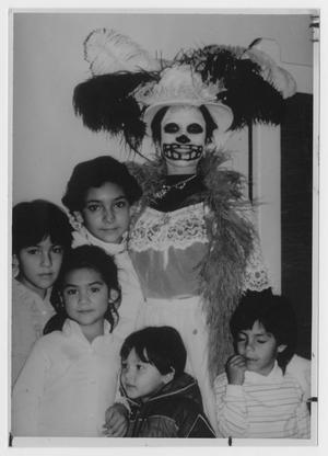 Primary view of object titled '[La Catrina and Friends]'.