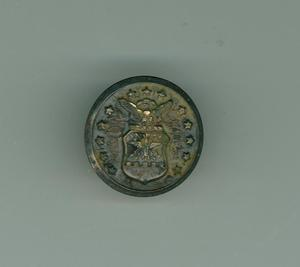 Primary view of object titled 'Metal button'.