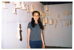 Primary view of object titled '[Margarita Becerra Cano and The San Diego Wall]'.