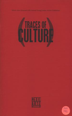 Primary view of object titled '[Guide: Traces of Culture]'.