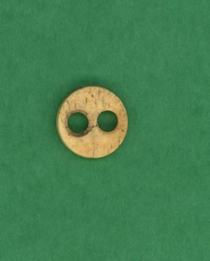 Primary view of object titled 'Bone button'.