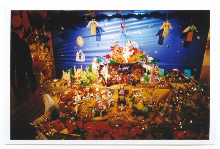 mexican christmas nativity scene altar the portal to texas history
