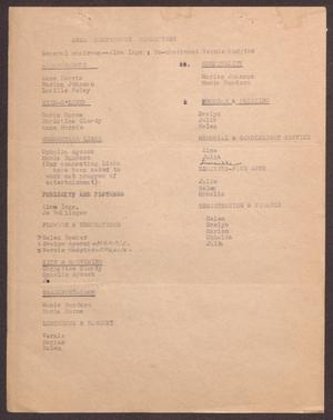 Primary view of object titled '[Links Chapter Documentation: Area Conference Committees, 1968]'.
