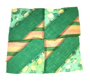 Primary view of object titled '[Green Quilt Block]'.