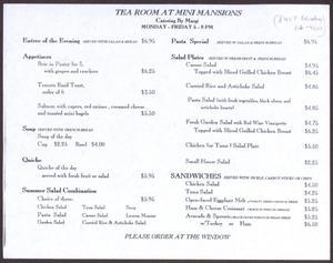 Mini Mansions San Antonio Tea Room