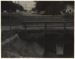 Primary view of object titled 'Polk Street Bridge, Richardson, Texas'.