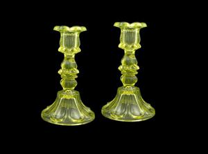 Primary view of object titled 'Candlesticks'.